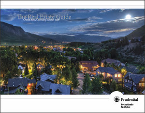 Summer 2009 Real Estate Guide for Crested Butte, Montana.  Click the picture to see the Electronic Magazine.