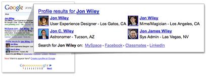 Example Google Profile
